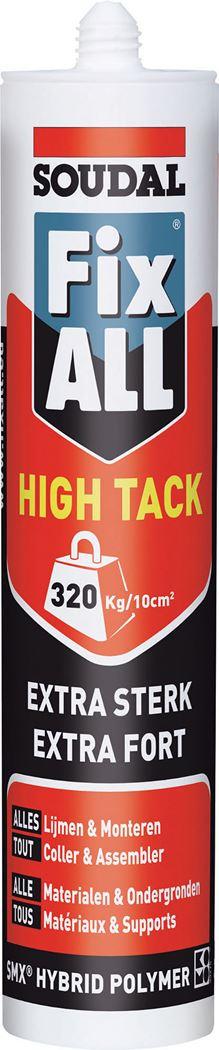 soudal fix all high tack wit
