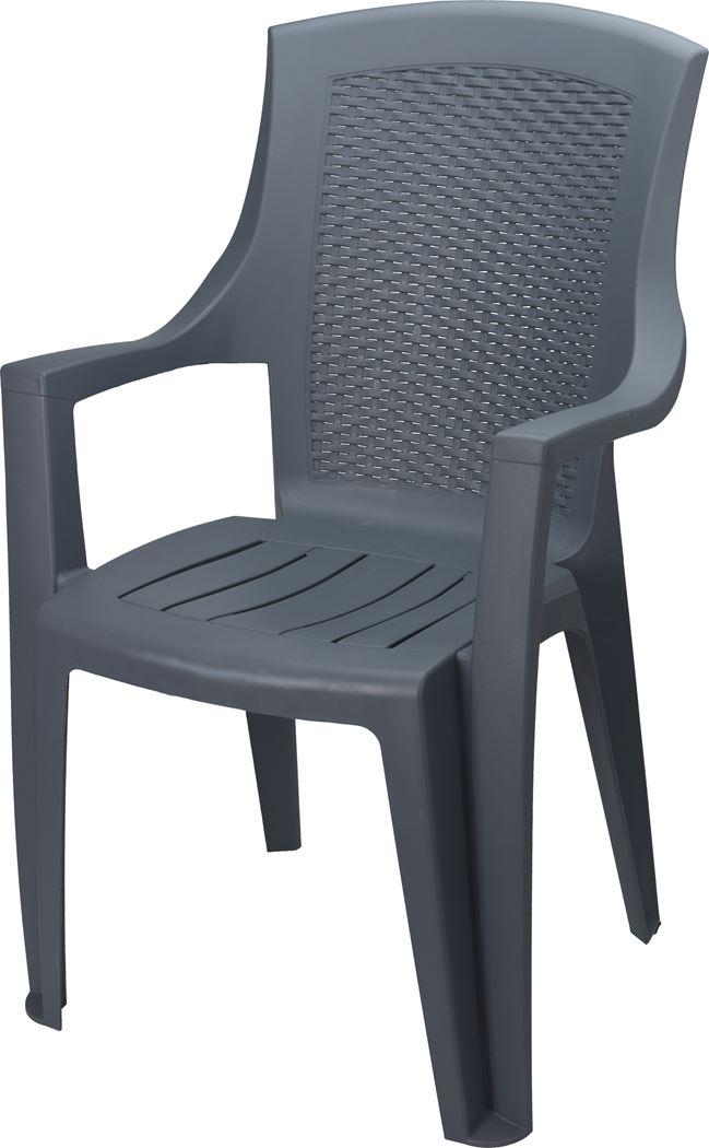 stoel eden pastel licht grijs