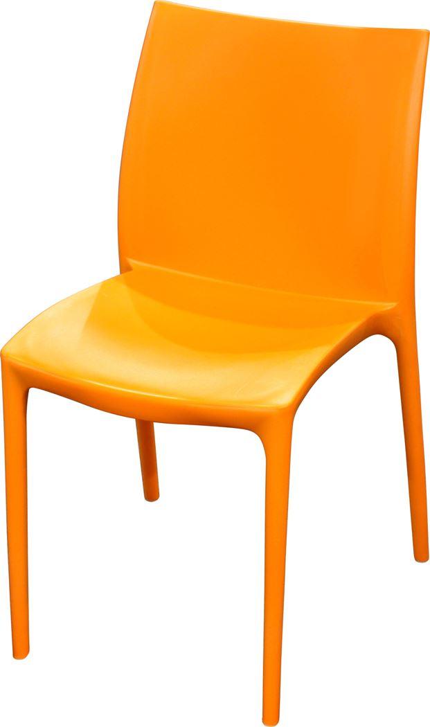 stoel zip oranje