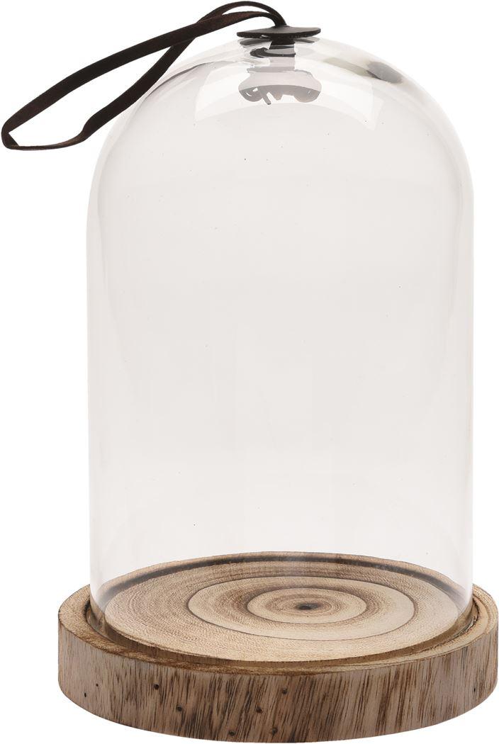 stolp met houten onderzetter