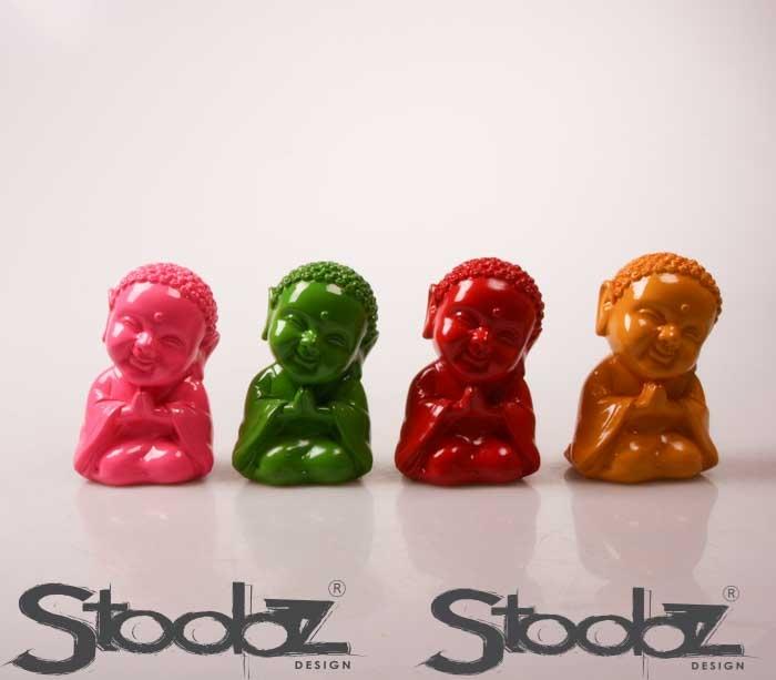 stoobz boeddha (4 kleuren ass.)