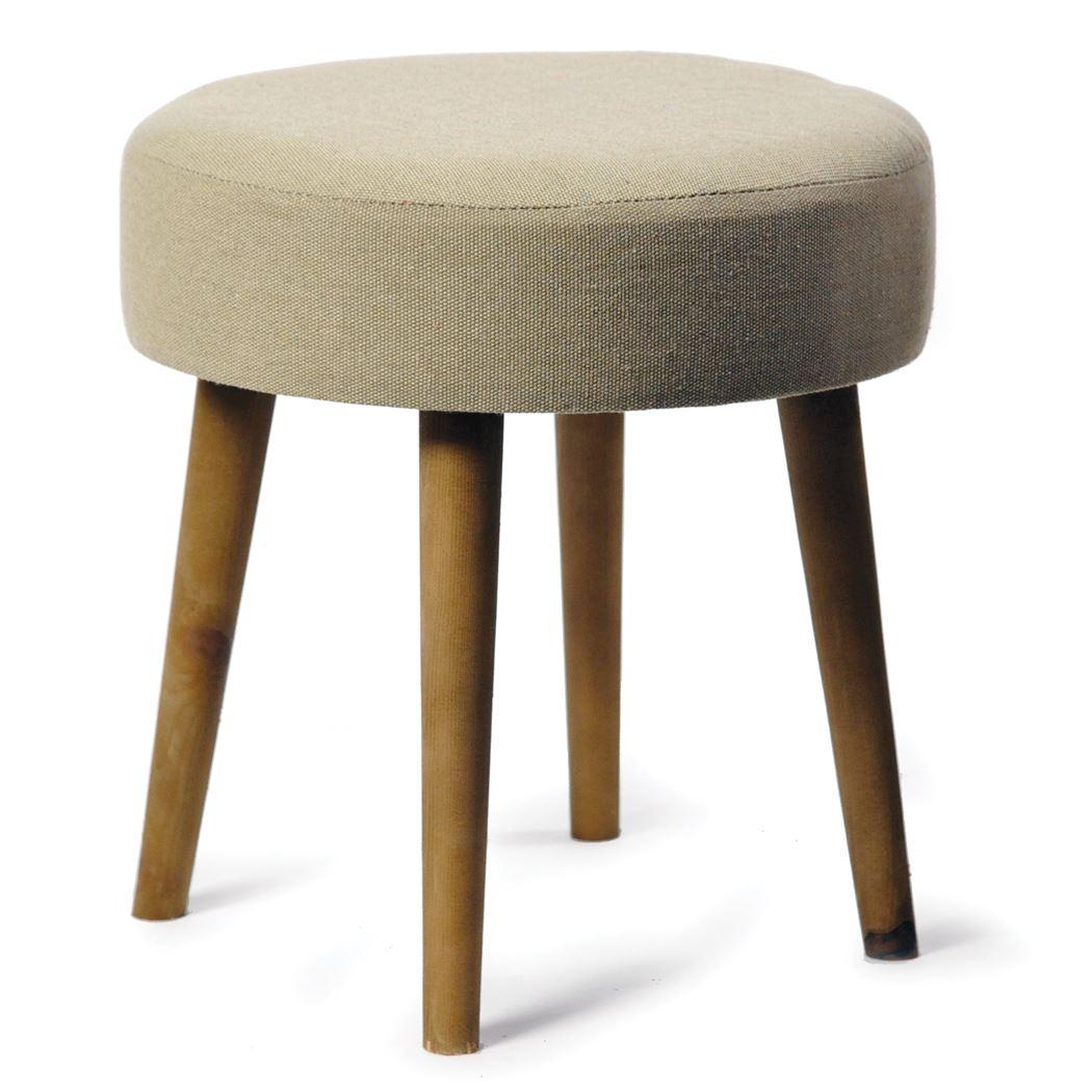 stool fabric elegance beige