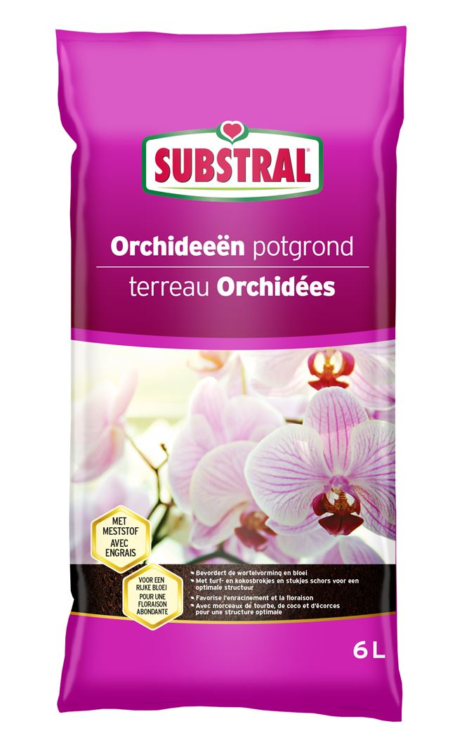 substral orchideeënpotgrond