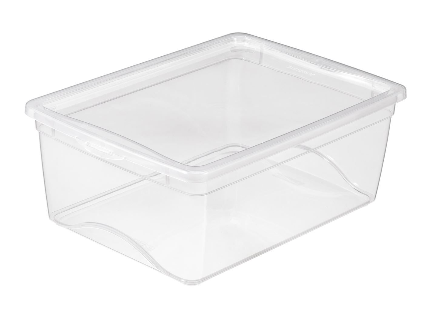 sunware omega clearbox met deksel transparant