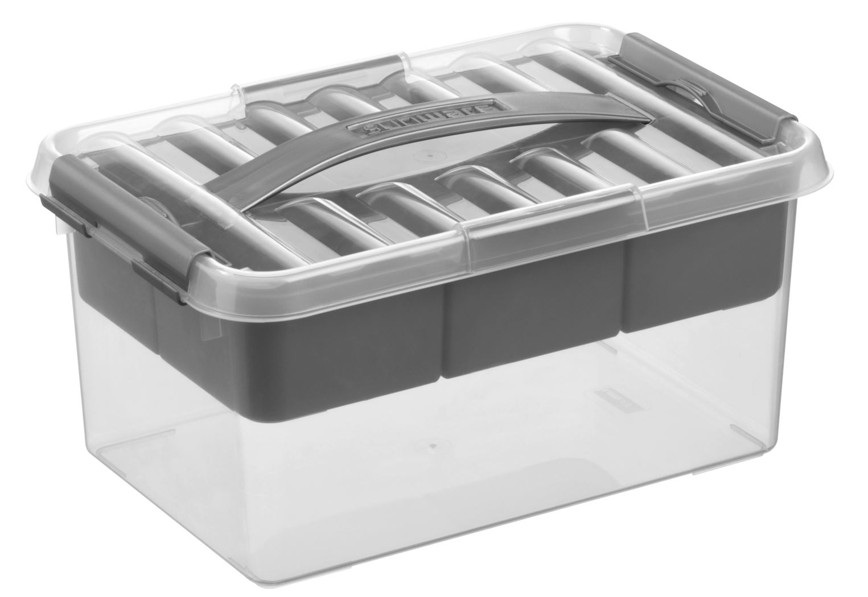 sunware q-line multibox transparant/metaal