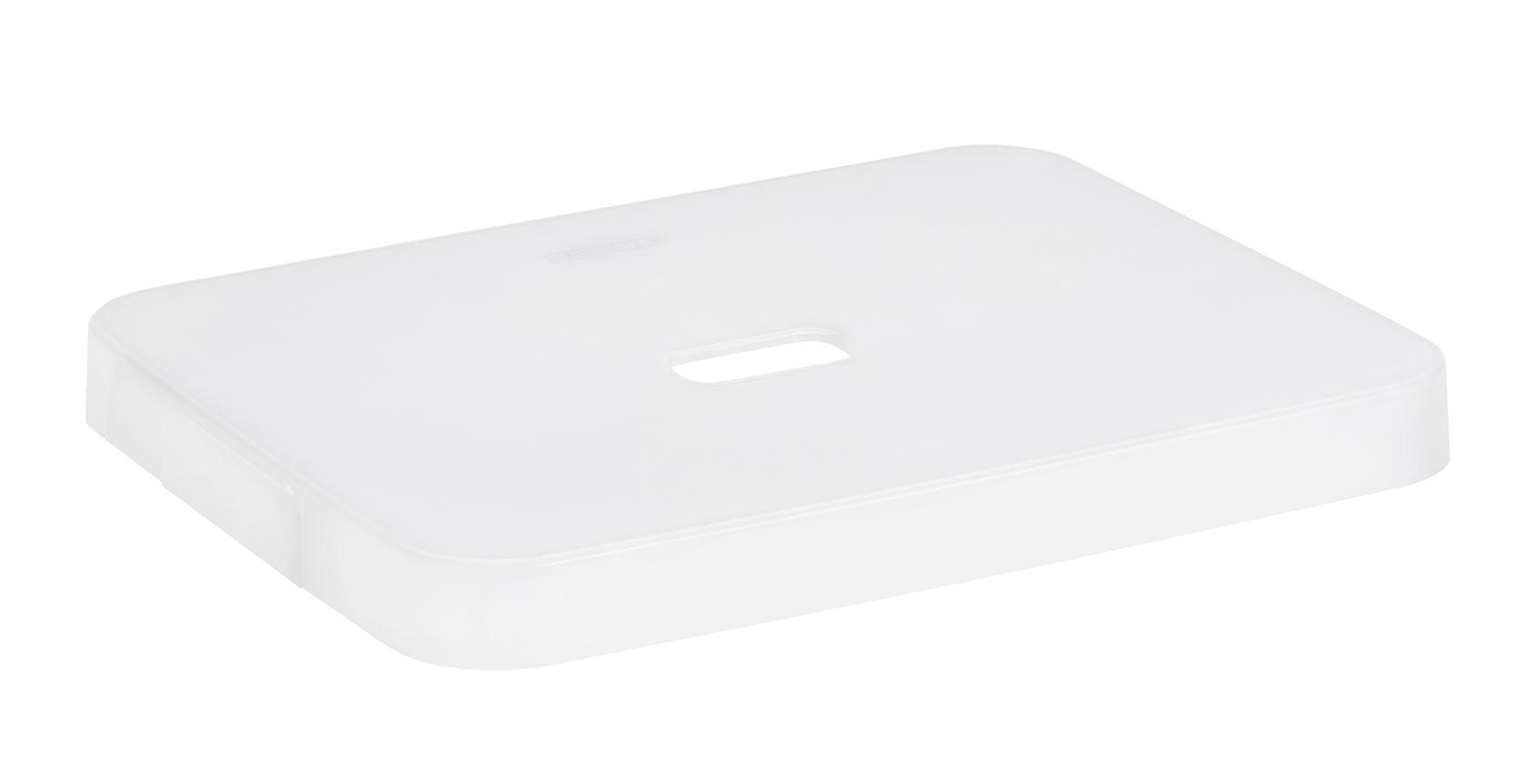 sunware sigma home deksel voor box 24 of 32 ltr. transparant