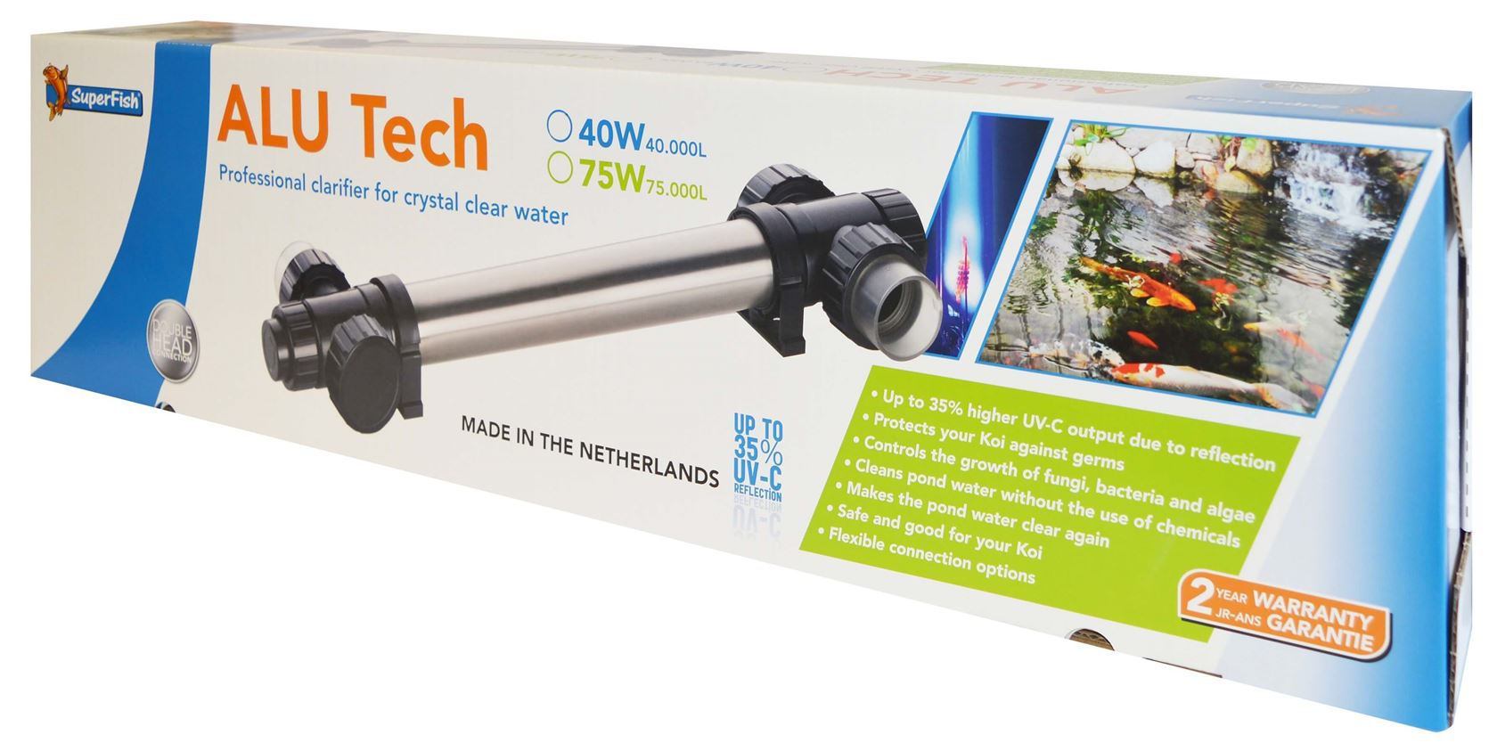 superfish alutech uv-c t5