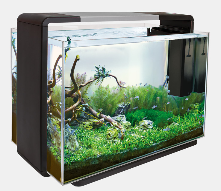 superfish aquarium home 110 zwart