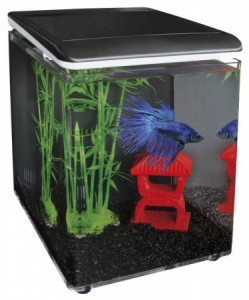 superfish aquarium home 8 zwart