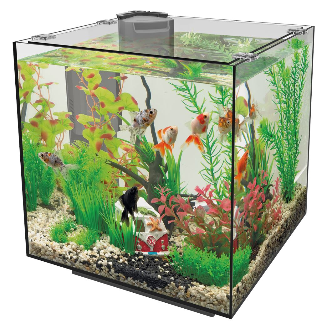 superfish aquarium qubiq 30 zwart