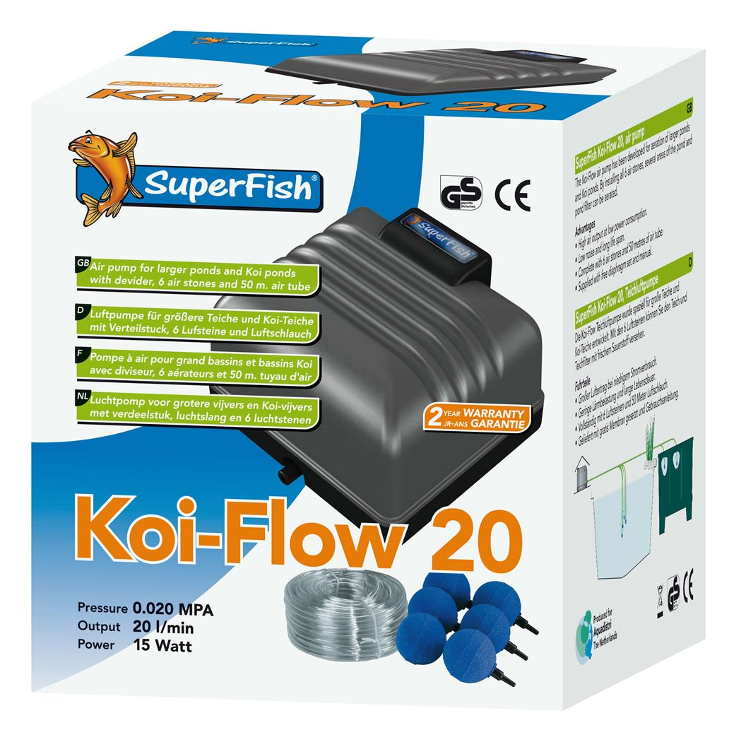 superfish beluchtingsset koi flow 20