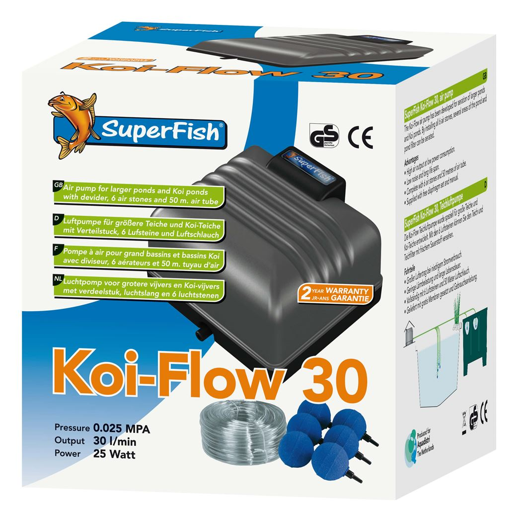 superfish beluchtingsset koi flow 30
