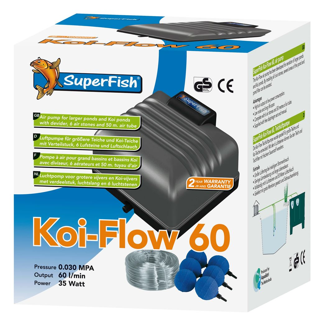 superfish beluchtingsset koi flow 60