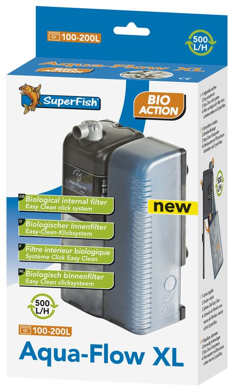 superfish binnenfilter aqua-flow xl bio