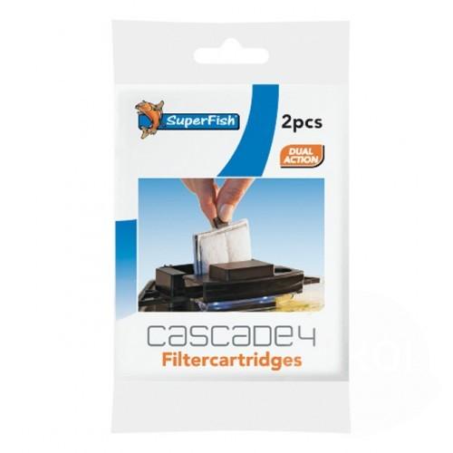 superfish cascade 4&10 filter cassette (2sts)