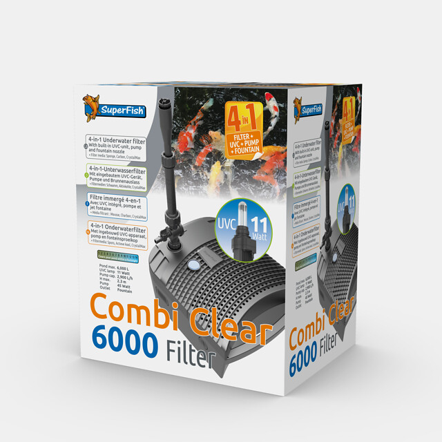 superfish combi clear 6000 filter