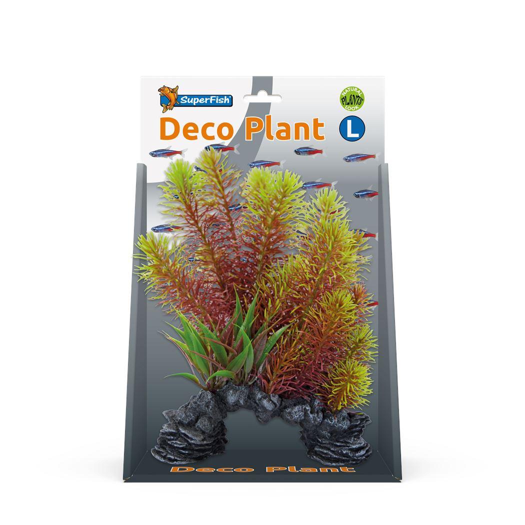 superfish deco plant l myriophyllum red