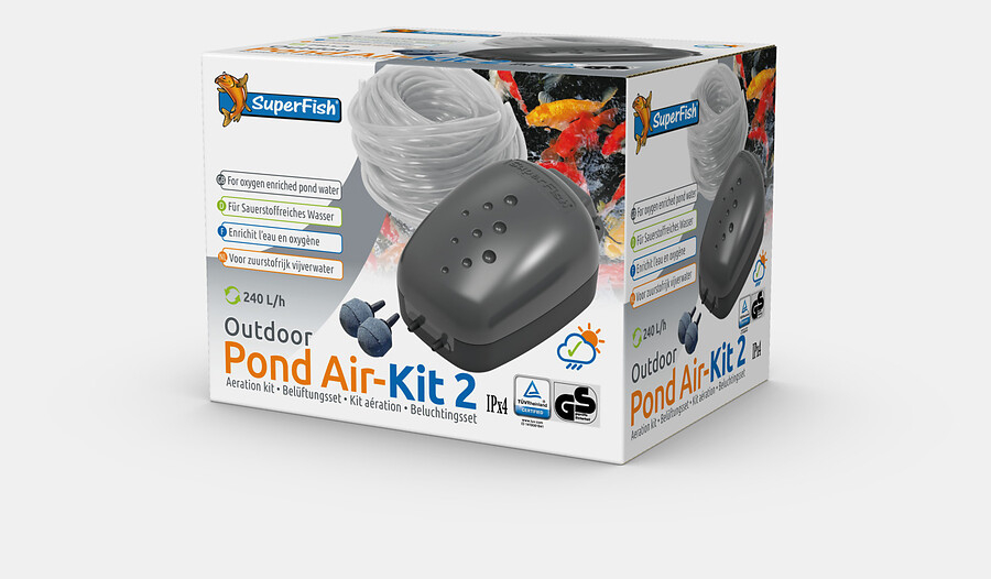 superfish pond air kit 2