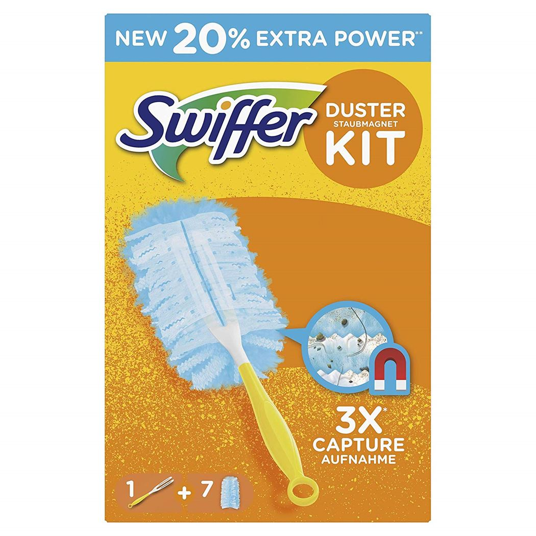 swiffer duster kit (houder + 7 stoffers)