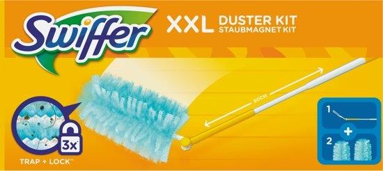 swiffer duster xxl kit (houder + 2 stoffers)