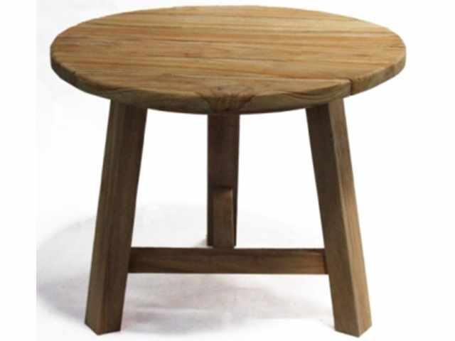 table teakwood natural