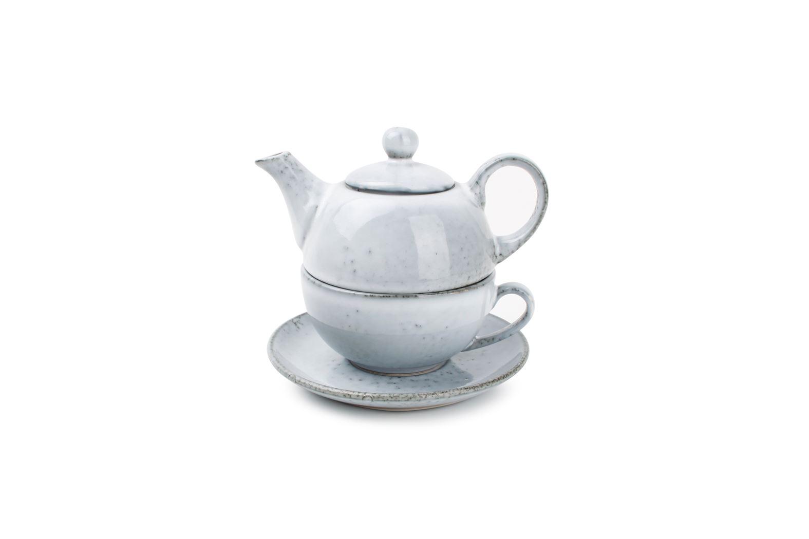 tea for one set blauw artisan