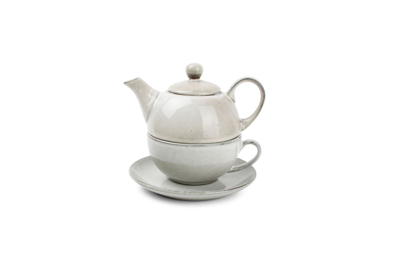 s&p tea for one set groen artisan