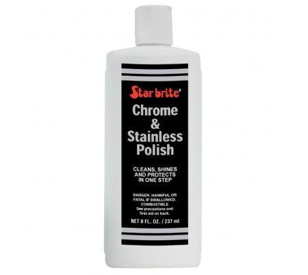 teak care - chroom & stainless polish