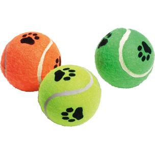 tennisbal met geluid (3ass.)