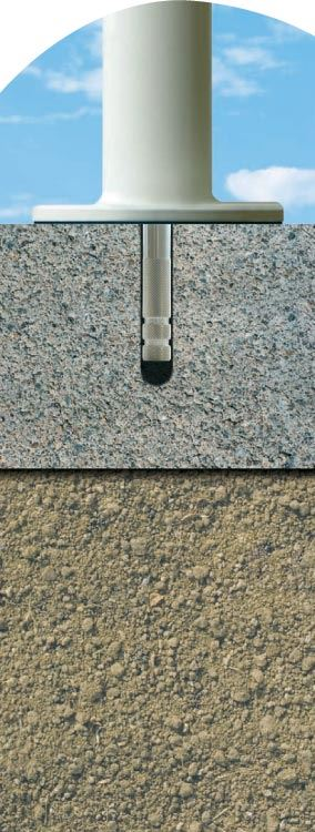 terra easyfoot beton-/steenverankeringsset