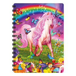 tfy livelife notitieboekjes klein -  pink pony dazzle