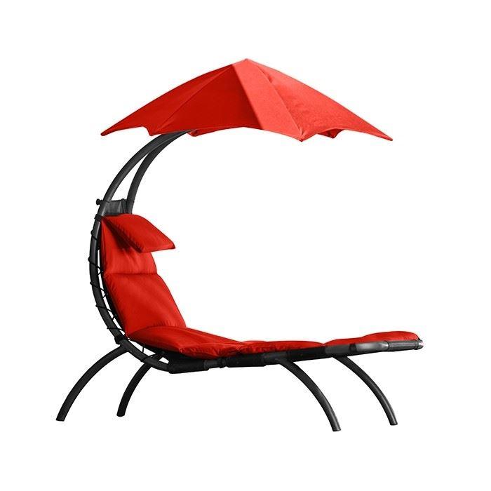 the original dream lounger cherry red