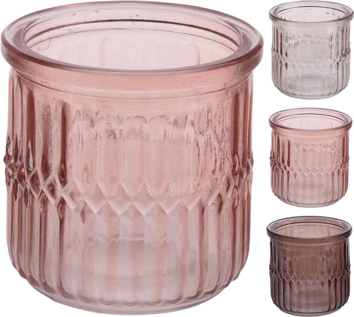 theelichthouder glas (3ass.)