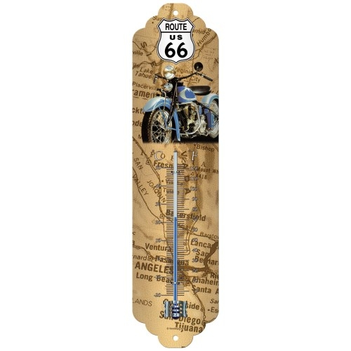 thermometer route 66 map