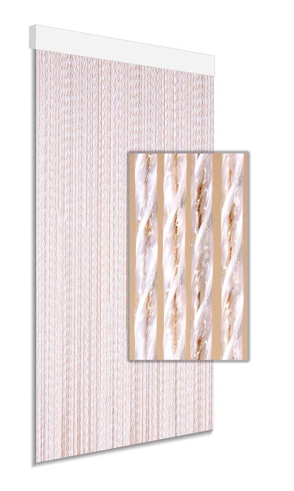 degor deurgordijn kunststof bruin