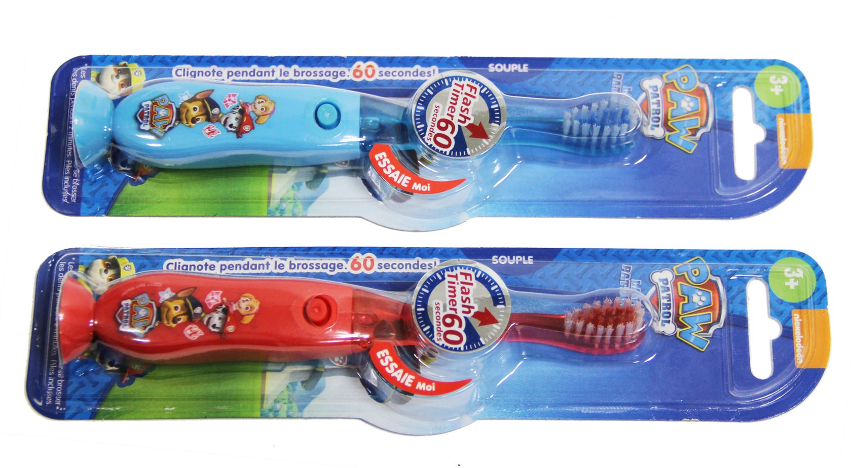 tinokou tandenborstel flashing timer paw patrol