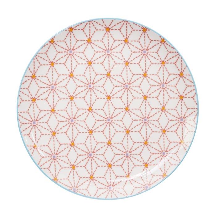 tokyo design studio baobab plate red star