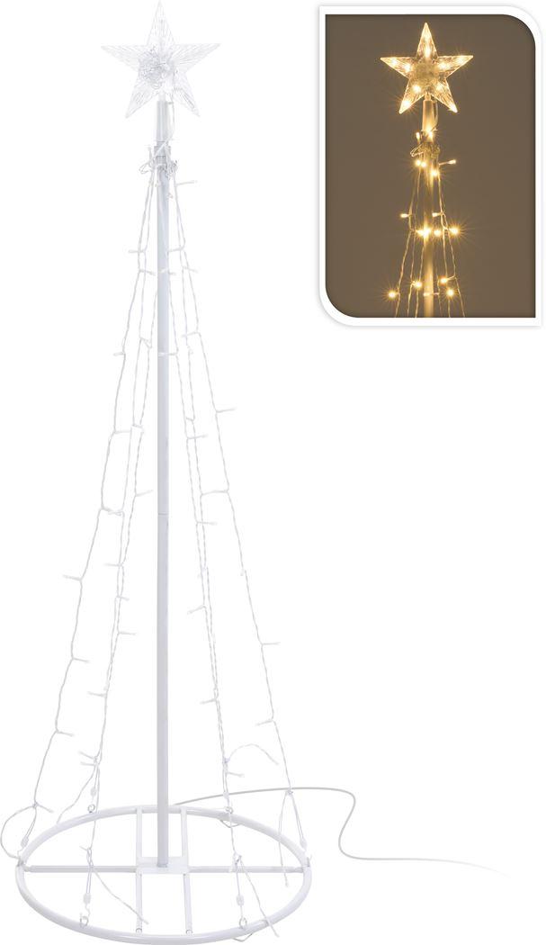 toren met ster wit led warmwit