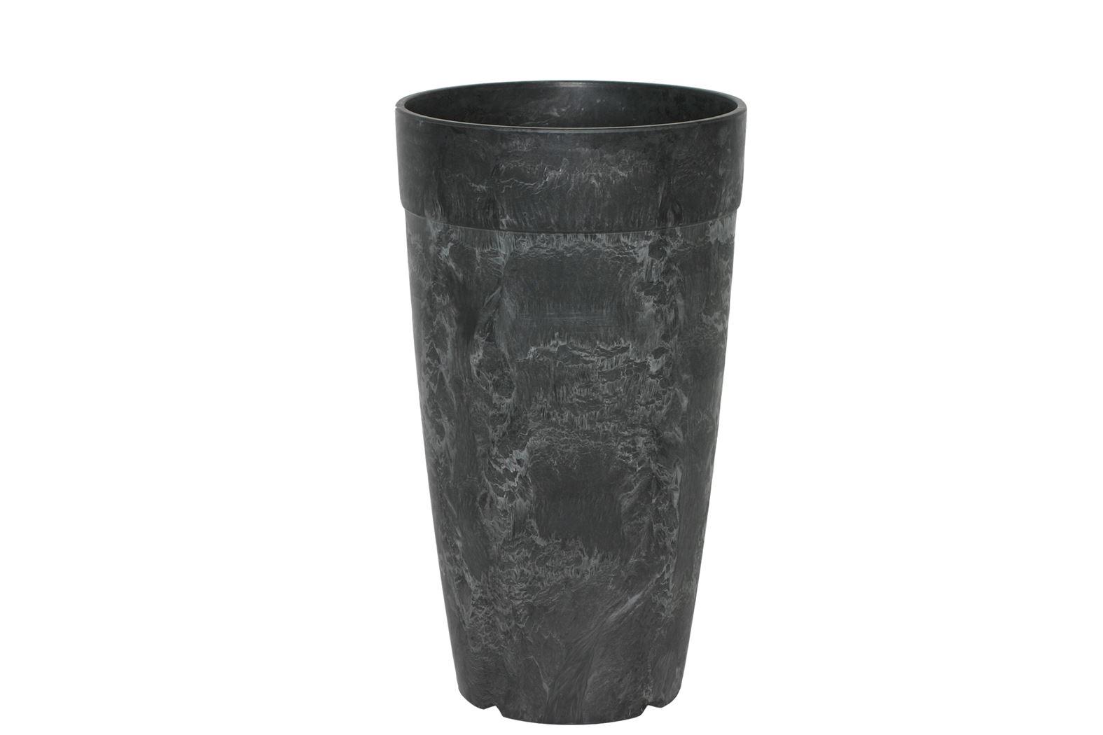 artstone vaas dolce zwart