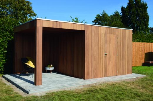 tuinhuis modern + lounge grenen