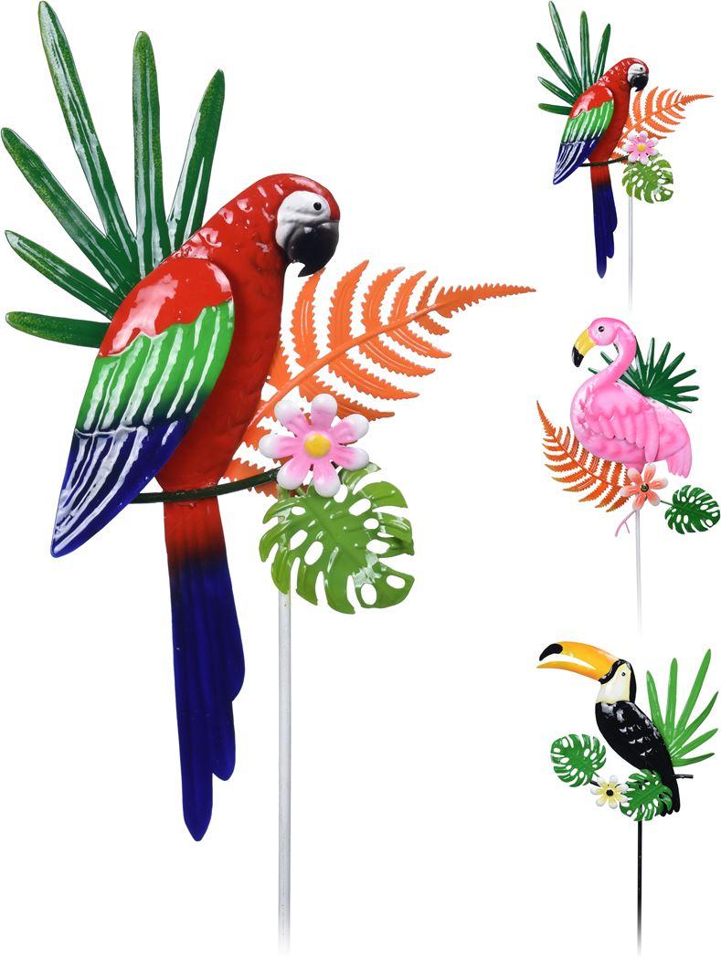 tuinprikker tropische vogels (ass.)