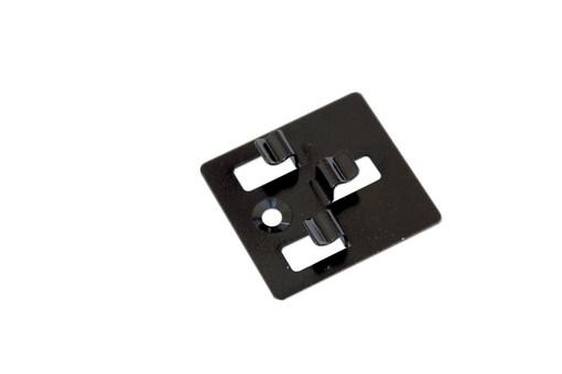 tussenclips rvs t.b.v. montage composiet dekdelen inclusief schroeven (100 sts.)
