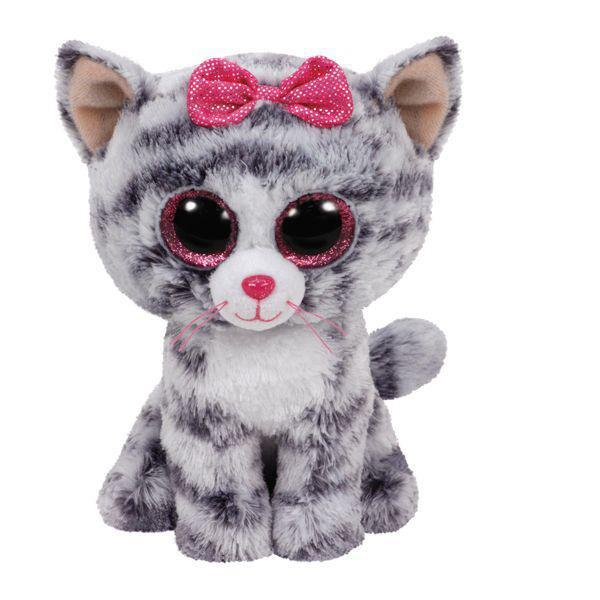 ty beanie boo's small - kiki le chat