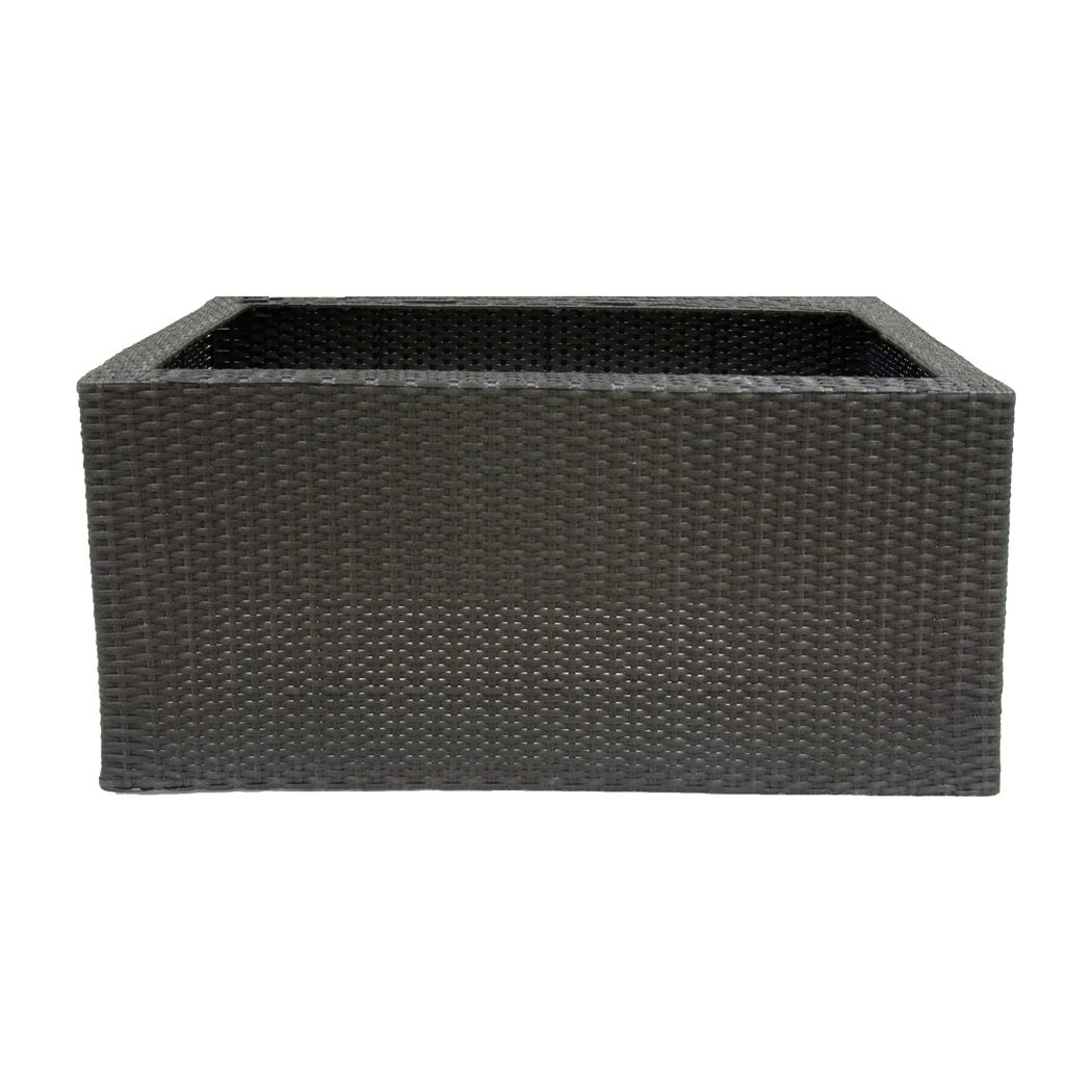 ubbink acqua-arte deco wall wicker 6 zwart