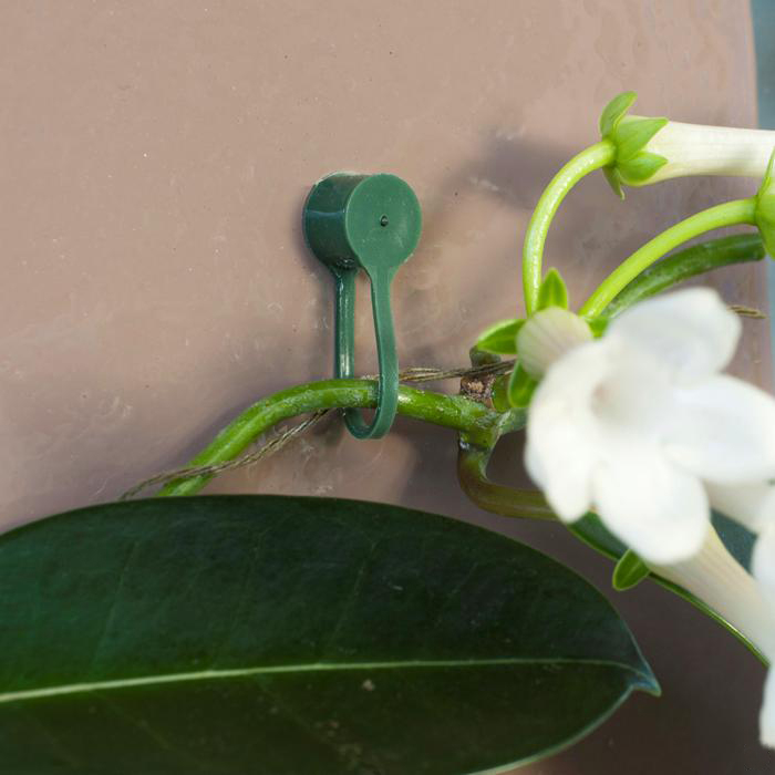 ubbink plantenklemmen wit (15sts)