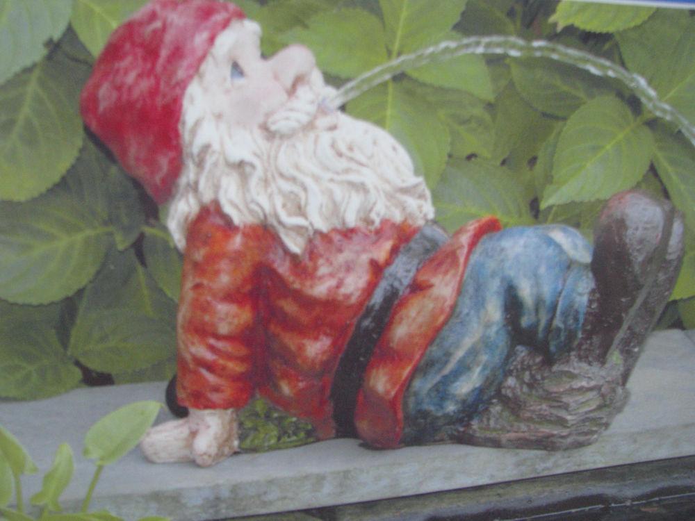 ubbink so arte spuitfiguur gnome lying down