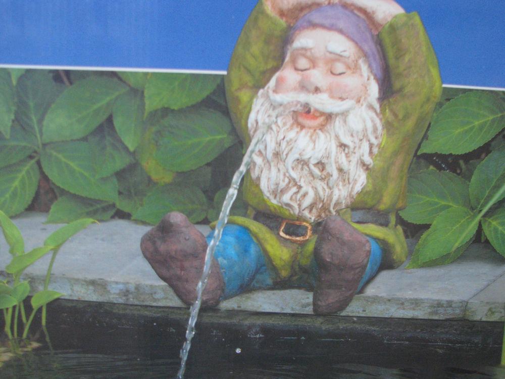 ubbink so arte spuitfiguur gnome sitting