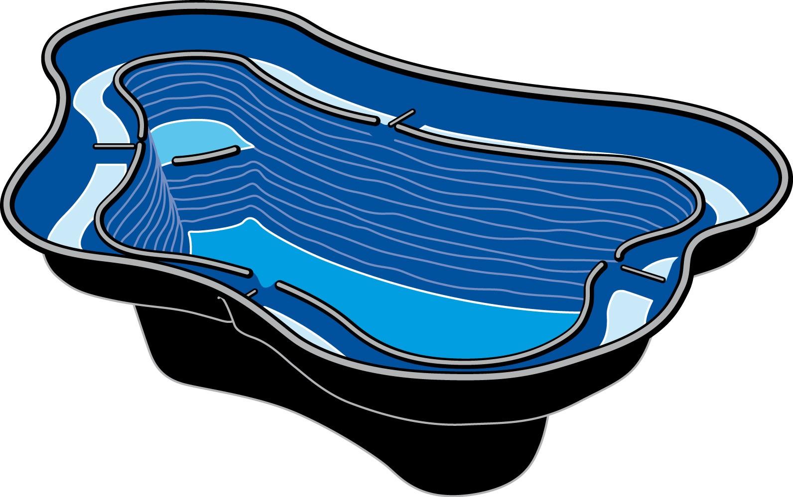 ubbink voorgevormde vijver - calmus siv