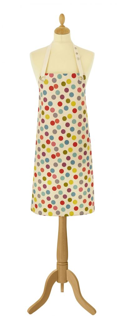 ulster weavers oil cloth apron spot