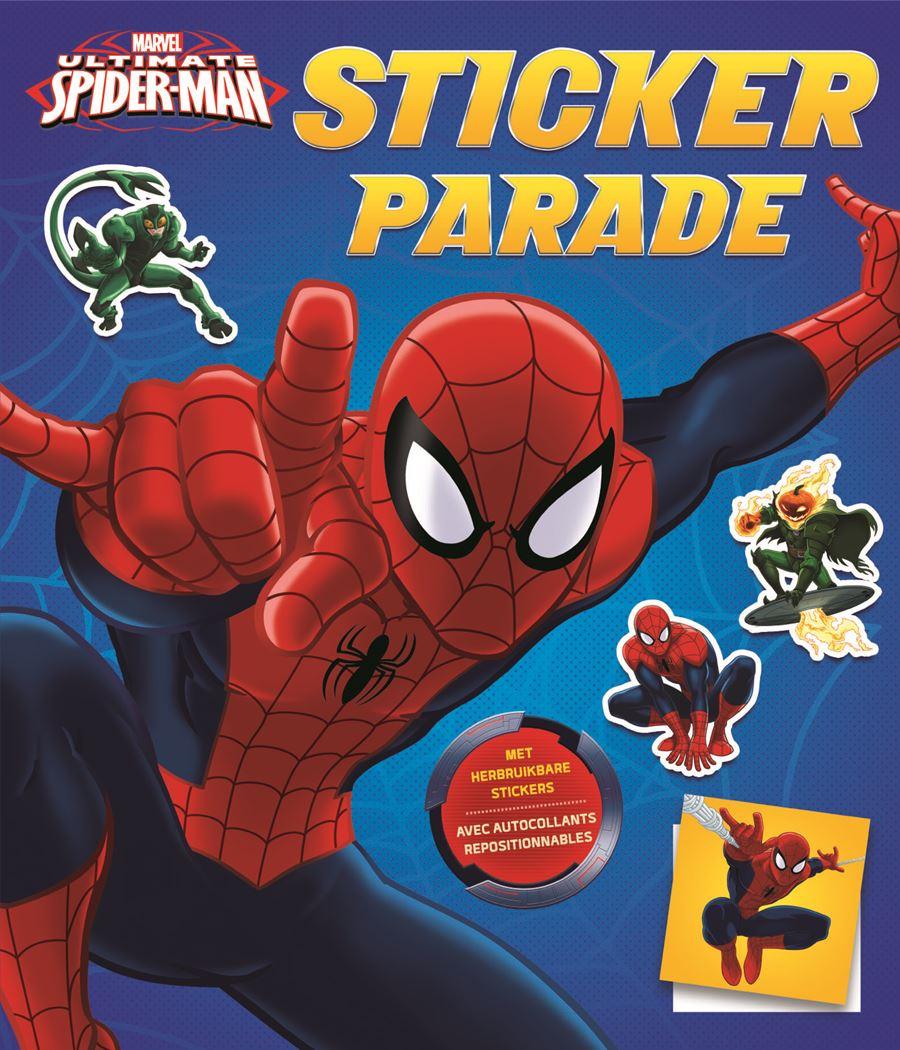 ultimate spider-man sticker parade